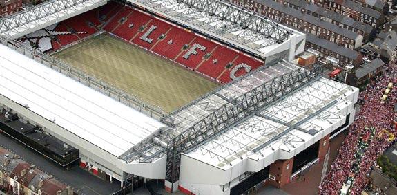 אצטדיון אנפילד של ליברפול / צלם: רויטרס